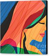 Finding Yourself Canvas Print by Hilda Lechuga