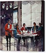 Fine Dining Canvas Print by Ryan Radke