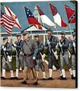 Finley's Brigade Canvas Print by Deborah Allison