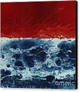 Fire And Water Canvas Print by David Neace