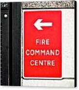Fire Command Centre Canvas Print