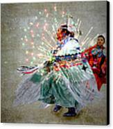 fire Dance Canvas Print