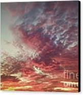 Fire Sky Canvas Print by Holly Martin