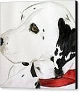 Firedog Canvas Print