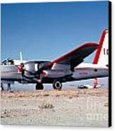 Firefighting Airtanker N4235n Canvas Print
