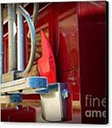 Fireman Hook And Ladder Canvas Print