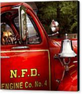 Fireman - This Is My Truck Canvas Print