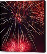 Firework Majesty  Canvas Print