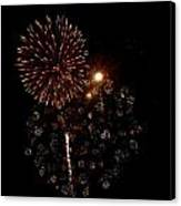 Fireworks 12 Canvas Print by Mark Malitz