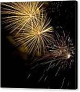 Fireworks 20 Canvas Print by Sandy Swanson