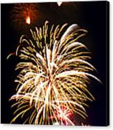 Fireworks Canvas Print by Elena Elisseeva