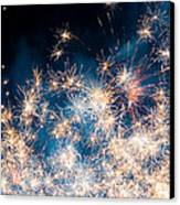 Fireworks In The Sky Canvas Print by Gianfranco Weiss