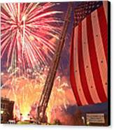 Fireworks Canvas Print by Jim DeLillo