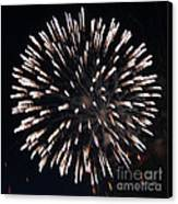 Fireworks Series X Canvas Print by Suzanne Gaff