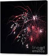 Fireworks Series Xi Canvas Print by Suzanne Gaff