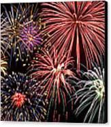 Fireworks Spectacular IIi Canvas Print by Ricky Barnard