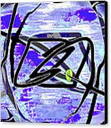 Firmament Cracked #4 - Entrapment Canvas Print by Mathilde Vhargon