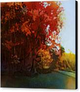 First Light Canvas Print by Kris Parins