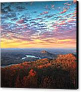 First Light Over The Ocoee River Canvas Print