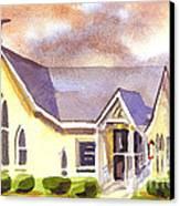 First Presbyterian Church Ironton Missouri Canvas Print by Kip DeVore