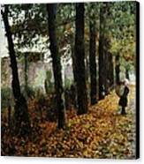 First Signs Of Autumn Canvas Print