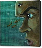 Fish Mind Canvas Print