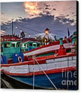 Fishing Boat V2 Canvas Print