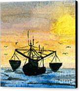 Fishing Tackle Canvas Print by R Kyllo
