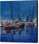 Fishmoon Canvas Print