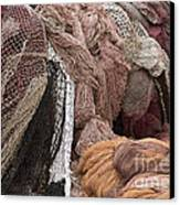 Fishnets Canvas Print by Frank Tschakert