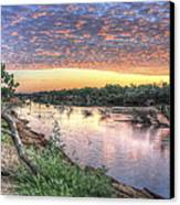 Fitzroy River Canvas Print by Ian  Ramsay