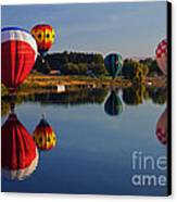 Five Aloft Canvas Print by Mike  Dawson