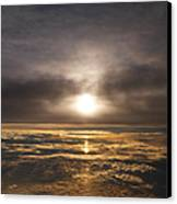 Five And A Half Mile Sunset Canvas Print by Richard Reeve