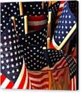 Flag Bouquet Canvas Print by Mamie Gunning