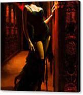 Flamenco Dancer 015 Canvas Print by Catf