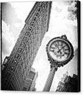 Flat Iron Canvas Print by Peter Aitchison