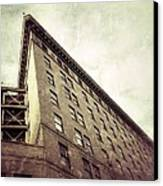 Flat Iron/wall St.  Canvas Print by Mark Block