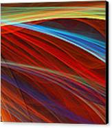 Flaunting Colors Canvas Print