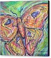 Flight Of The Moth Canvas Print by M C Sturman