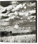 Flint Hills Prairie Canvas Print