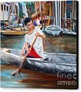 Floating City Of Belen Canvas Print