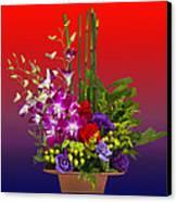 Floral Arrangement Canvas Print by Chuck Staley