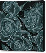 Floral Constellations Canvas Print