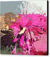 Floral Fiesta - S33ct01 Canvas Print