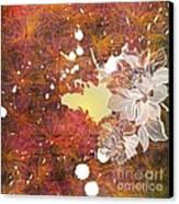 Floral Print Canvas Print by Ankeeta Bansal