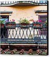 Florence Balcony Canvas Print