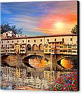 Florence Bridge Canvas Print