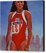 Florence Griffith - Joyner Canvas Print