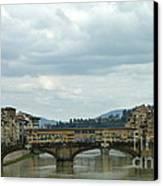 Florence. Ponte Vecchio Canvas Print