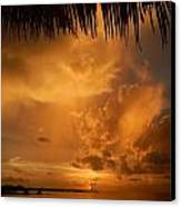 Florida Sunshower Sunset Canvas Print by Susan Sidorski
